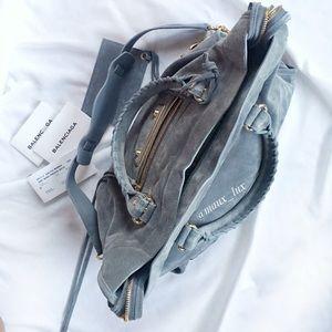 FINAL PRICE🌸 NWT Balenciaga Nubuck Moto City Bag